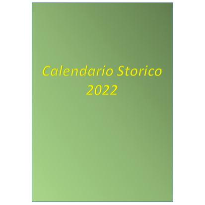 CALENDARIO STORICO GUARDIA DI FINANZA – ED. 2022